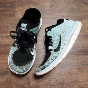 Nike Free 4.0 Flyknit Glacier Blue